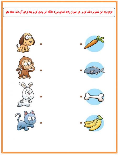 تقویت جمله سازی و استدلال تصویری