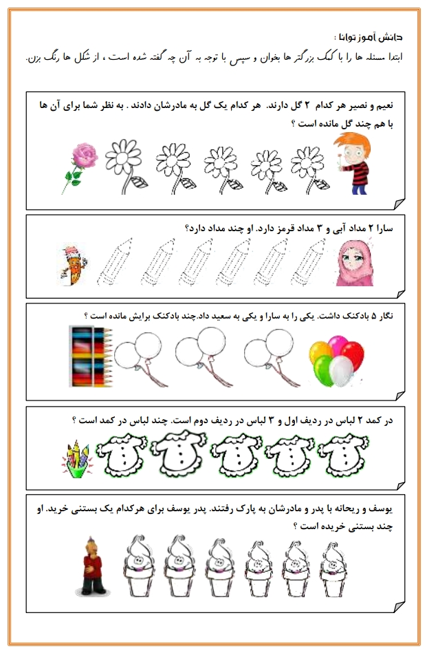 آموزش و یادگیری حل مساله های ریاضی