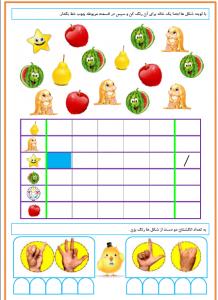 تدریس تم های ریاضی اول دبستان